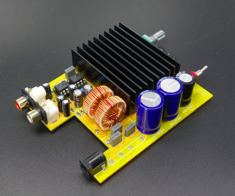 Free-Shipping-TDA7498E-200W-x1-Class-D-Amplifier-completed-board-WLX