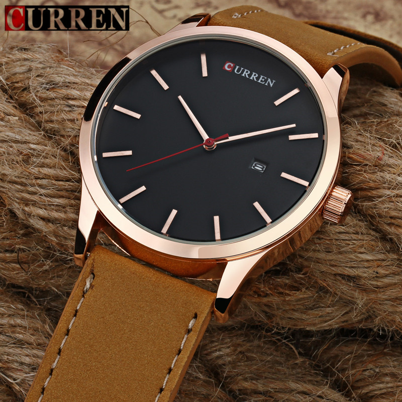 Relogio Masculino CURREN Popular Brand Watch Men Luxury Casual Male Watches Men Clock Men's Sports Quartz-Watch Men Watches 8214 new listing men watch luxury brand watches quartz clock fashion leather belts watch cheap sports wristwatch relogio male gift