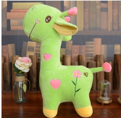 18cm 25cm Colorful Cute Rainbow Giraffe Plush Toys Soft Lovely Toy