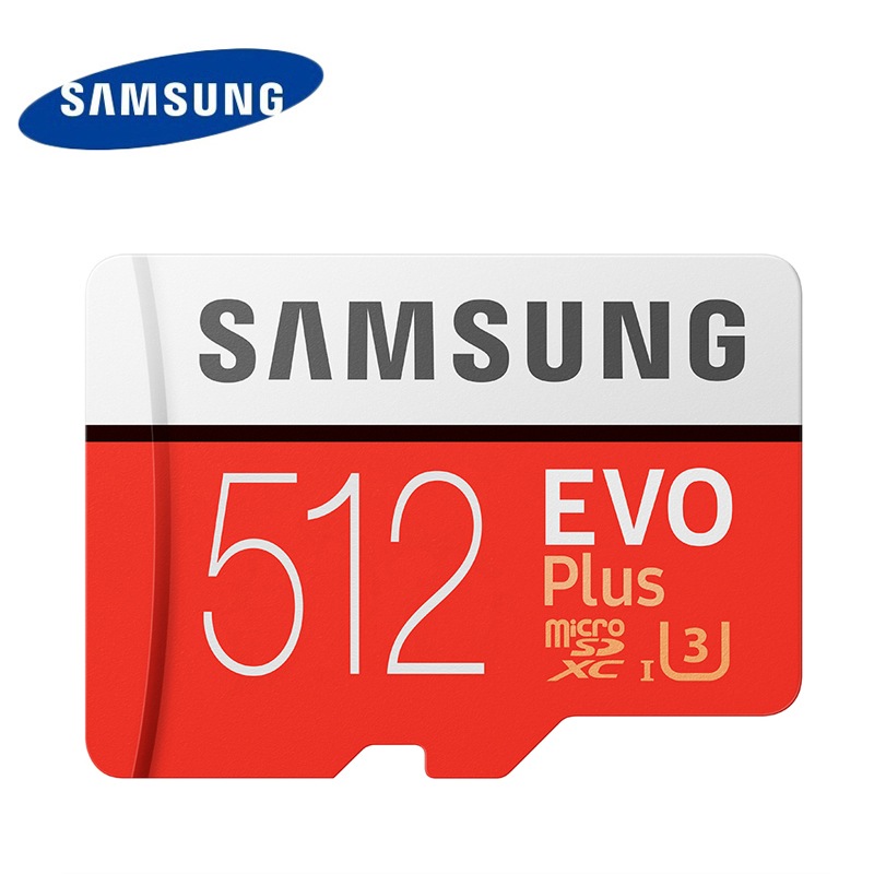Original SAMSUNG EVO Plus Memory Card 64GB 128GB 256GB 512GB SDXC U3 Class10 Micro SD Cards 32GB SDHC U1 Trans Flash tf card