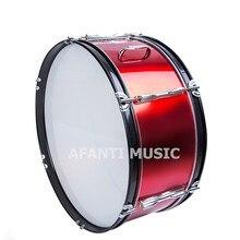 22 inch Burgundy Afanti Music Bass Drum BAS 1023