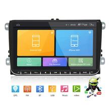 New 9 Quad Core Navigation Android 8.1 Car GPS Dvd Player BT RDS Recorder Automobile Sat Nav Truck Gps Navigators