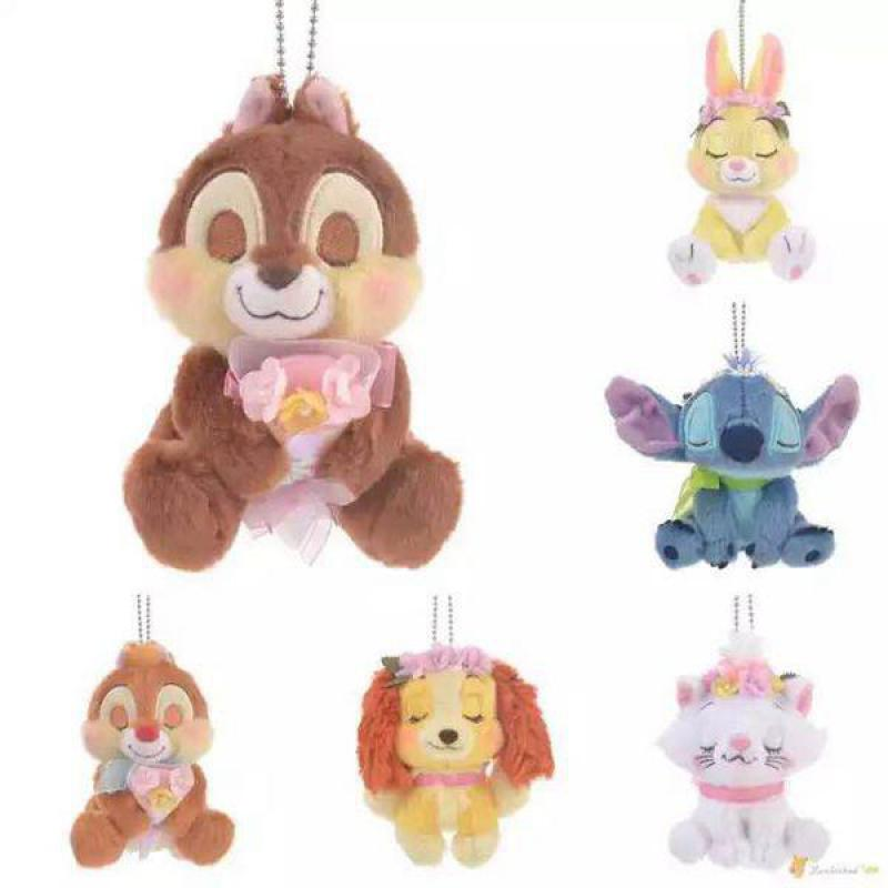 Cute Cartoon Marie Cat Brother Squirrel Rabbit Dog Plush Toy Soft Stuffed Animal Dolls Pendant For Girls Kids Children Gifts