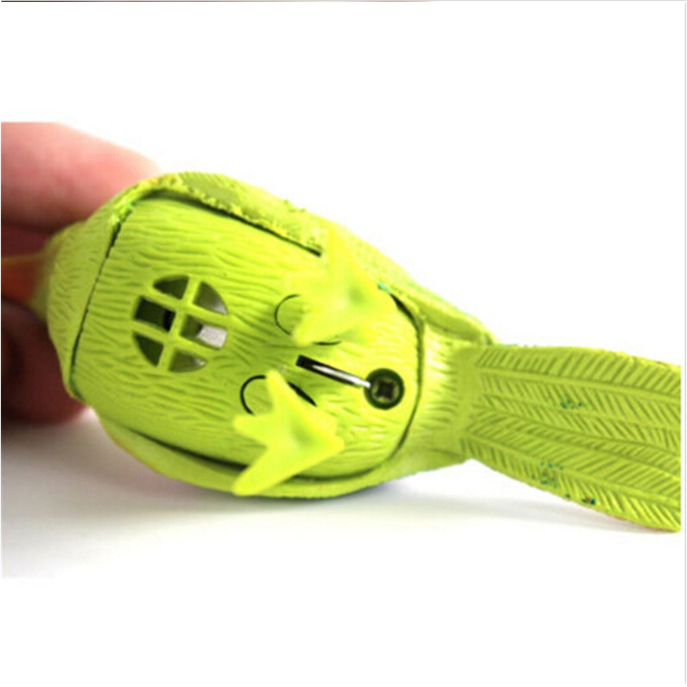 Cute Plastic Sound Voice Control Activate Chirping Singing Bird Funny Toy Gift Random Color