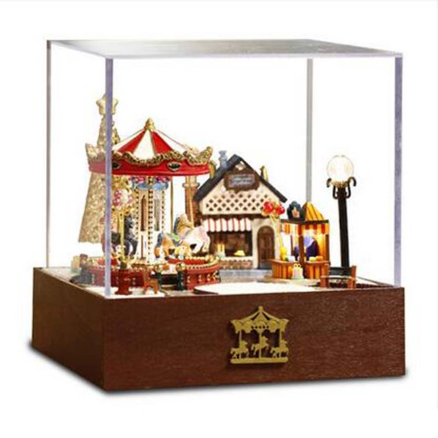 Do It Yourself Gift Ideas Wooden Miniature Room Box