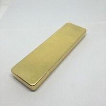 Retro copper brass stationery box high-grade pencil case storage 5pcs/lot