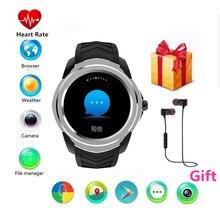 9fc1d0acc59 Para a engrenagem SAMSUNG s3 apple huawei xiaomi inteligente relógios com monitor  de freqüência cardíaca 2