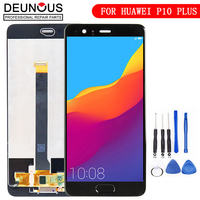 Tested 5.5'' 2560x1440 For HUAWEI P10 Plus LCD Display with Touch Screen Digitizer Assembly Replacement Parts VKY AL00