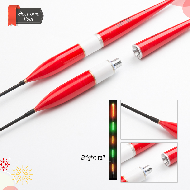 float Fishing Float LED Electric Float Light Fishing Tackle Luminous Electronic Float without battery (12)