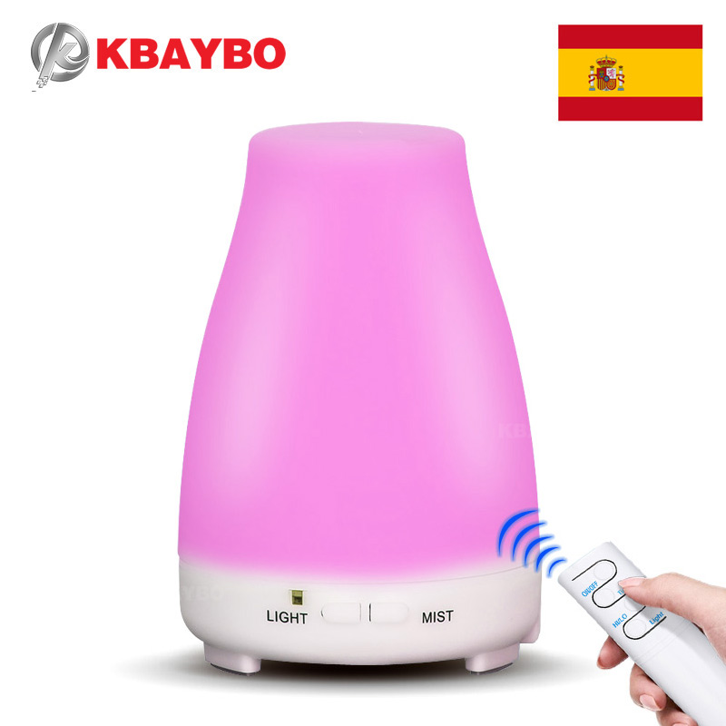 200ML Ultrasonic Humidifier Aromatherapy Diffuser Cool Mist With Color LED Lights Essential Oil Diffuser Waterless Auto Shut-off auto cool