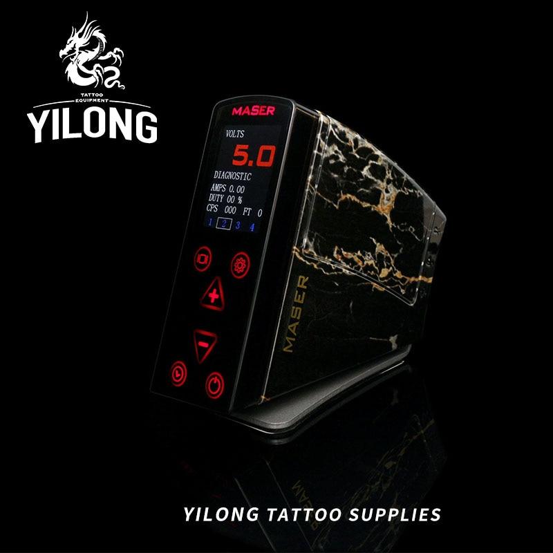 все цены на Tattoo Accessories 1Pcs LED Touch Display Power Supply 4 Memeory Preset Great Quality Tattoo Power Supply For Tattoo Guns Grips онлайн