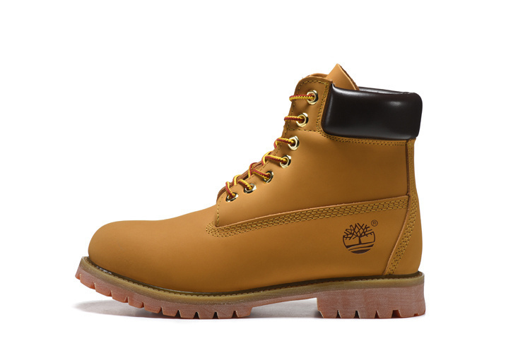 TIMBERLAND Women Classic 10061 Wheat Autumn Yellow Ankle Boots,Woman Leather Timber Casual Shoes Oversea Simple Version 36-40 1