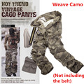 9 colors Mens Military Army Camouflage Cargo Pants Multi-pocket Causal Straight Long Baggy Loose tactical cargo pants (No Belt)