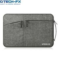 Canvas Laptop Sleeve Bag Men OR Women handbags 13141515.6 For Apple Macbook air QTECH Lenovo HP Notebook Case Computer Gray
