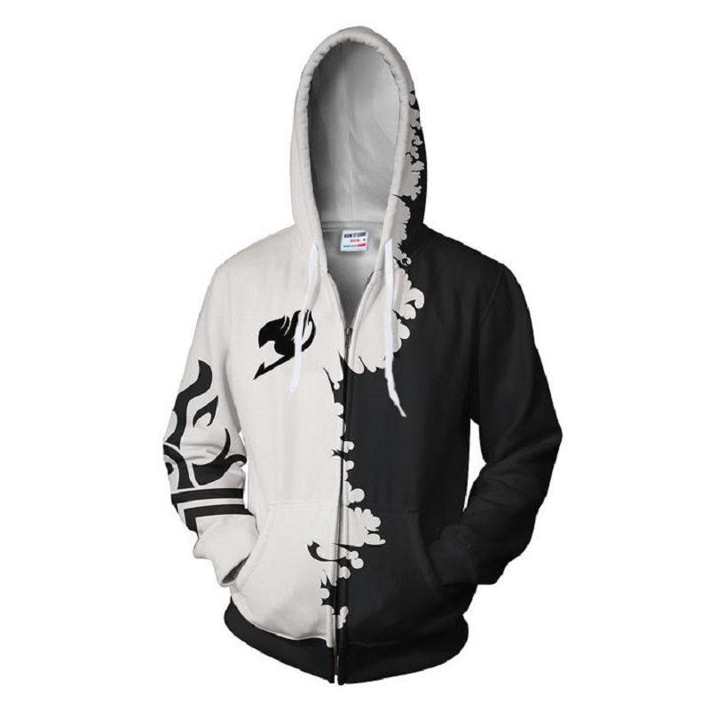 2018 new fashion Cool sweatshirt Hoodies Men women 3D print NARUTO MADARA ZIP UP hot Style Streetwear Long sleeve zipper tops