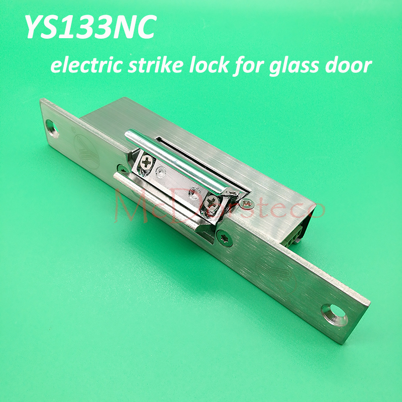 Yli Best Quality Fail Safe Electric Strike Lock Suitable for Glass Door YS-133NC Electric Door Lock Access Control Lock digital electric best rfid hotel electronic door lock for flat apartment