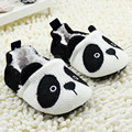 Toddler Boy Girls Warm Bootee Crochet Knit Shoes Newborn Fleece Panda Crib Shoes