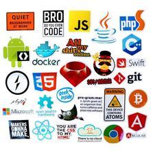 QMXD 30pcs/Lot Graffiti Java Php Software Programmer