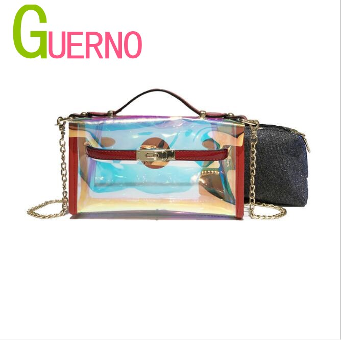 GUERNO Womens bag Steamed Stuffed Bun Mother Bags I 2018 New Summer Bags Chain Shoulder Bag al067 ...