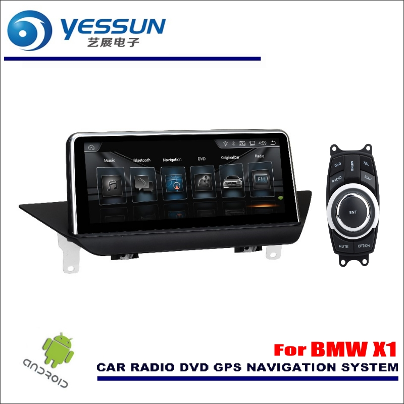 YESSUN 10 inch HD Screen For BMW X1 E84 2009~2015 iDrive Car Stereo Audio Video Player GPS Navigation Multimedia (No CD DVD)
