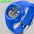 SANDA Children Student Watch Fashion Casual Silicone Sports Waterproof Watches Digital Kids Clock Boys Girls Wristwatch