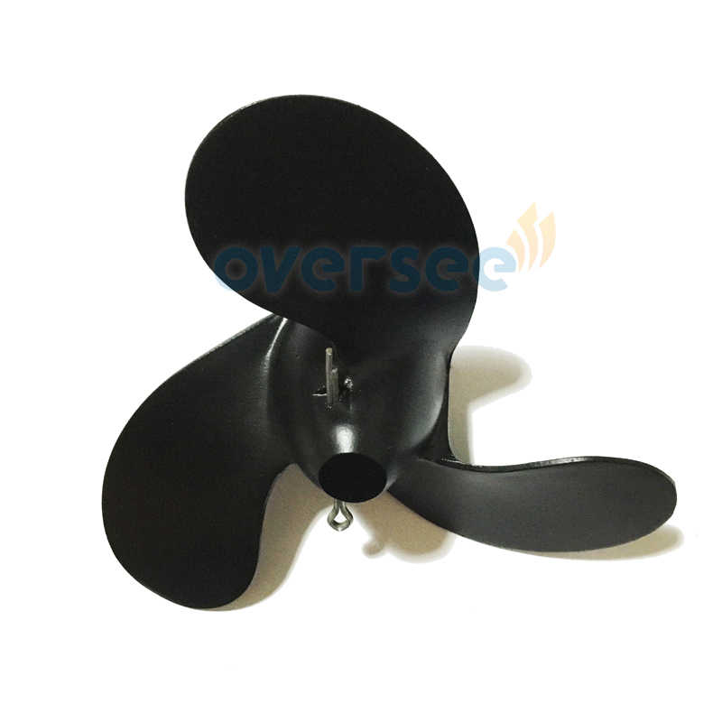 OVERSEE 309-64106-0 309-64107-0 Aluminium Propeller 7.4X5.7 for 2.5HP 3.5HP Nissan Tohatsu Outboard Motor Engine