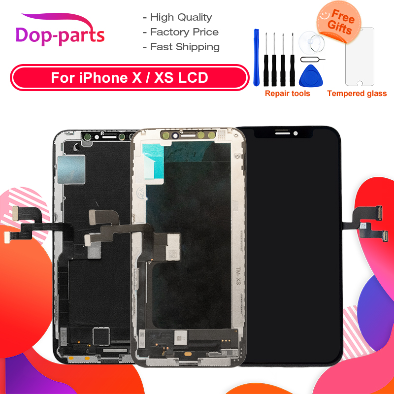 2pcs /Lot LCD For iPhone X oled LCD Display For IPhone XS AMOLED oled Touch Screen With Digitizer Replacement Assembly Parts2pcs /Lot LCD For iPhone X oled LCD Display For IPhone XS AMOLED oled Touch Screen With Digitizer Replacement Assembly Parts