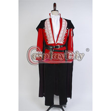 Cosplaydiy Custom Made Once Upon a Time Prince Charming Josh Dallas Costume Suit For Adult Men Halloween Cosplay Costume D0427