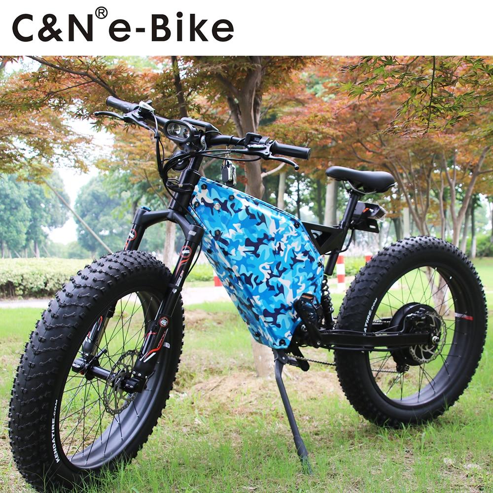 Bescheiden 2018 Jahr Neue Design 72 V 5000 Watt Schnee Fett Ebike/elektrisches Fahrrad/fahrrad/enduro Ebike Schrecklicher Wert