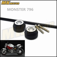 Free delivery For DUCATI MONSTER 796 2012-2016  CNC Modified Motorcycle drop ball / shock absorber