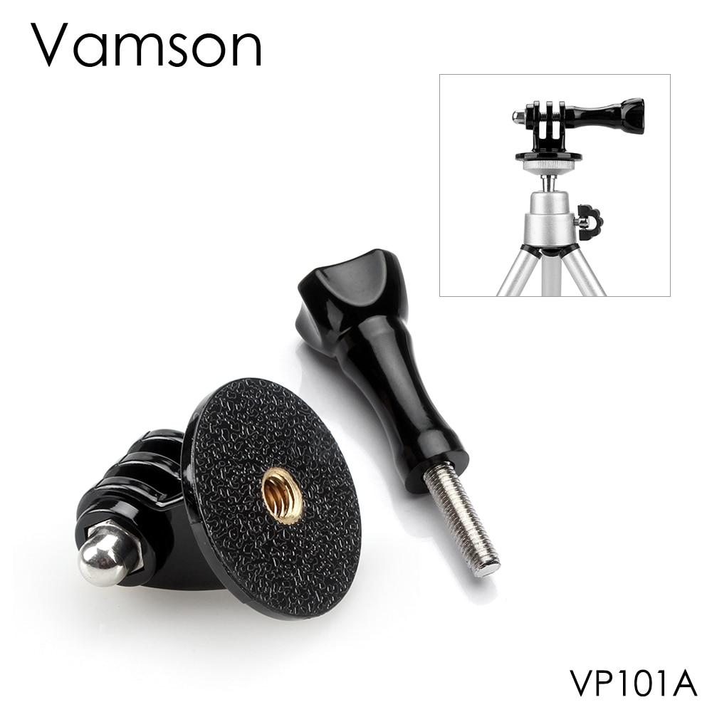Vamson For GoPro Accessories Adapter Converter Mount Monopod Tripod Holder Case Adapter For Go Pro Hero 7 6 5 4 Xiaomi Yi VP101
