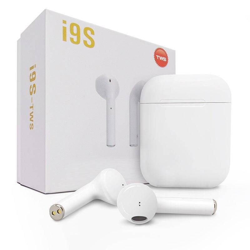 2018 Nuovo IFANS I9s TWS Auricolare Bluetooth Mini Doppio orecchio Auricolari Cuffie Senza Fili Air pod con il mic per Il Iphone 8 7 Plus. Android