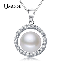 ASQUEEN Natural Pearl Necklace Round Romantic Box Rope Body Chain Fashion Necklaces For Women 925 Sterling