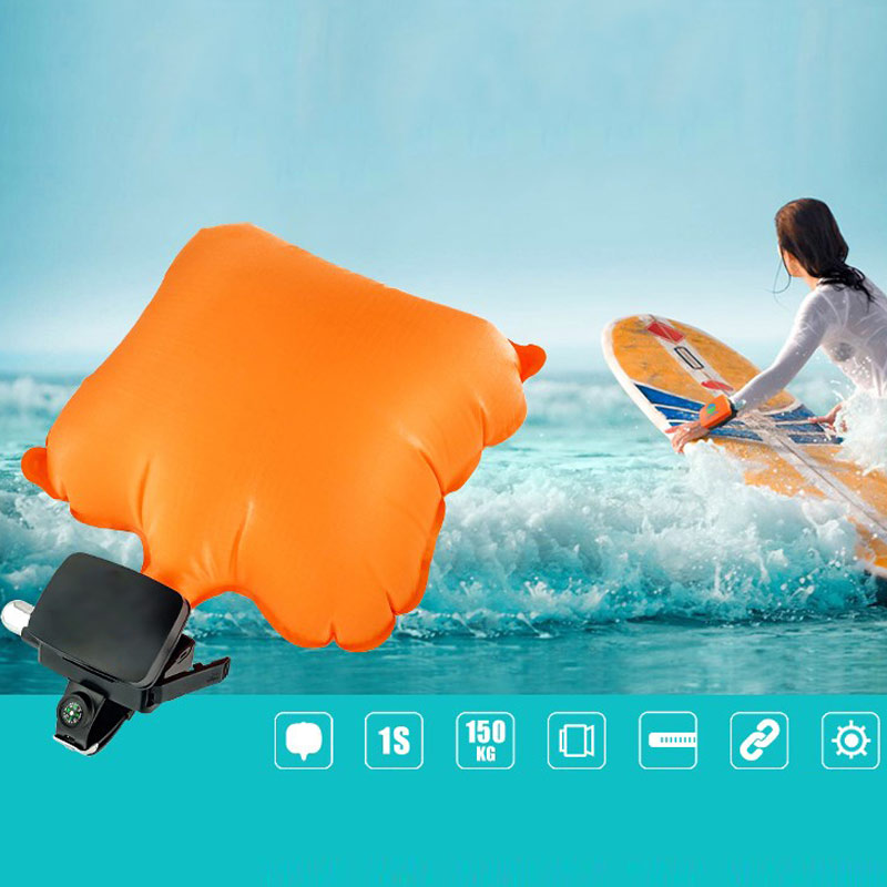 High Anti-Dredging Rescue Bracelet With Inflatable Airbag Outdoor Watersports Swim With Life Strap DOG88