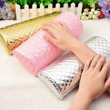 Профессиональный держатель для подушек для ногтей, мягкая губка из искусственной кожи, подставка для рук, подушка для ногтей с сердечком, аксессуары для маникюра apda9a124