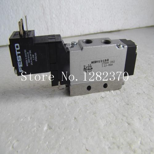 [SA] Genuine original special sales FESTO solenoid valve MEBH-5 / 2-1 / 8-B Stock --2PCS/LOT [sa] new original authentic special sales festo regulator gr 3 8 b stock 6308 2pcs lot