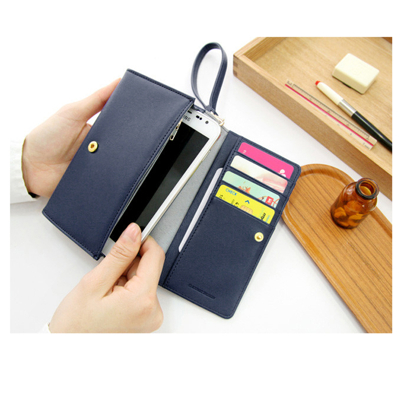 Wallets Purse-Bags Organizer Handle Phones-Cards Money 2folded Cheap Unisex with Changes