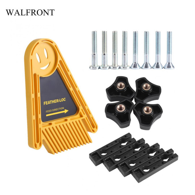 Walfront featherboard router tables saws tool sets miter gauge slot walfront featherboard router tables saws tool sets miter gauge slot woodworking diy feather board saws router keyboard keysfo