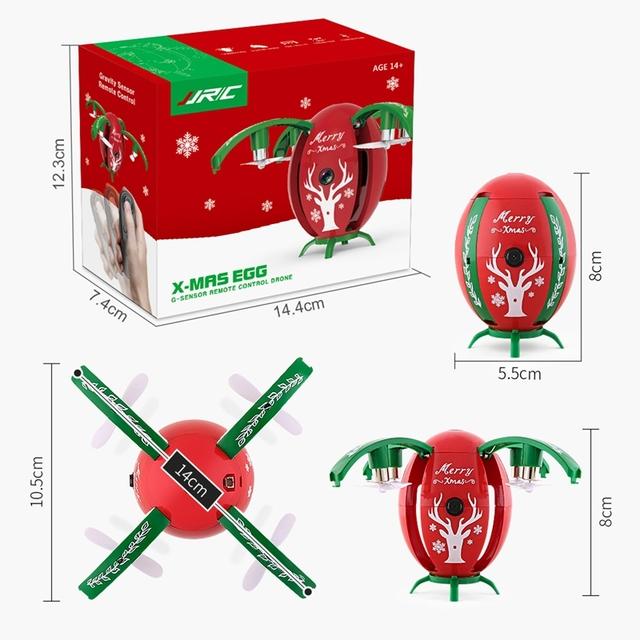 JJRC H66 Egg 720P WIFI FPV Selfie Drone w/ Gravity Sensor Mode Altitude Hold RC Quadcopter RTF for Kids Christmas Gift Presents