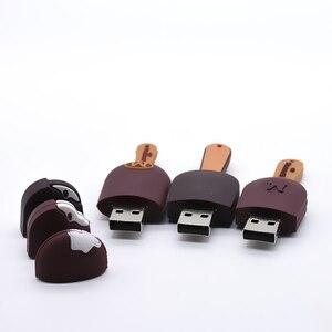 Image 2 - 素敵なusbフラッシュドライブアイスクリーム4グラム/8ギガバイト/16ギガバイト/32ギガバイト/64グラムusb 2.0ペンドライブusbスティックペンドライブフラッシュカードフラッシュメモリスティックuディスク