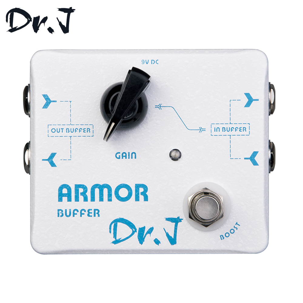 Dr.J D57 Armor Buffer Hand Made Stompbox Electric Guitar Effect Pedal True Bypass aroma adr 3 dumbler amp simulator guitar effect pedal mini single pedals with true bypass aluminium alloy guitar accessories