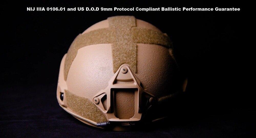 Arbeitsplatz Sicherheit Liefert Intellektuell Militech 2019 High Cut Xp Cut Ballistischen Helm Kommerziellen Schutzhelm