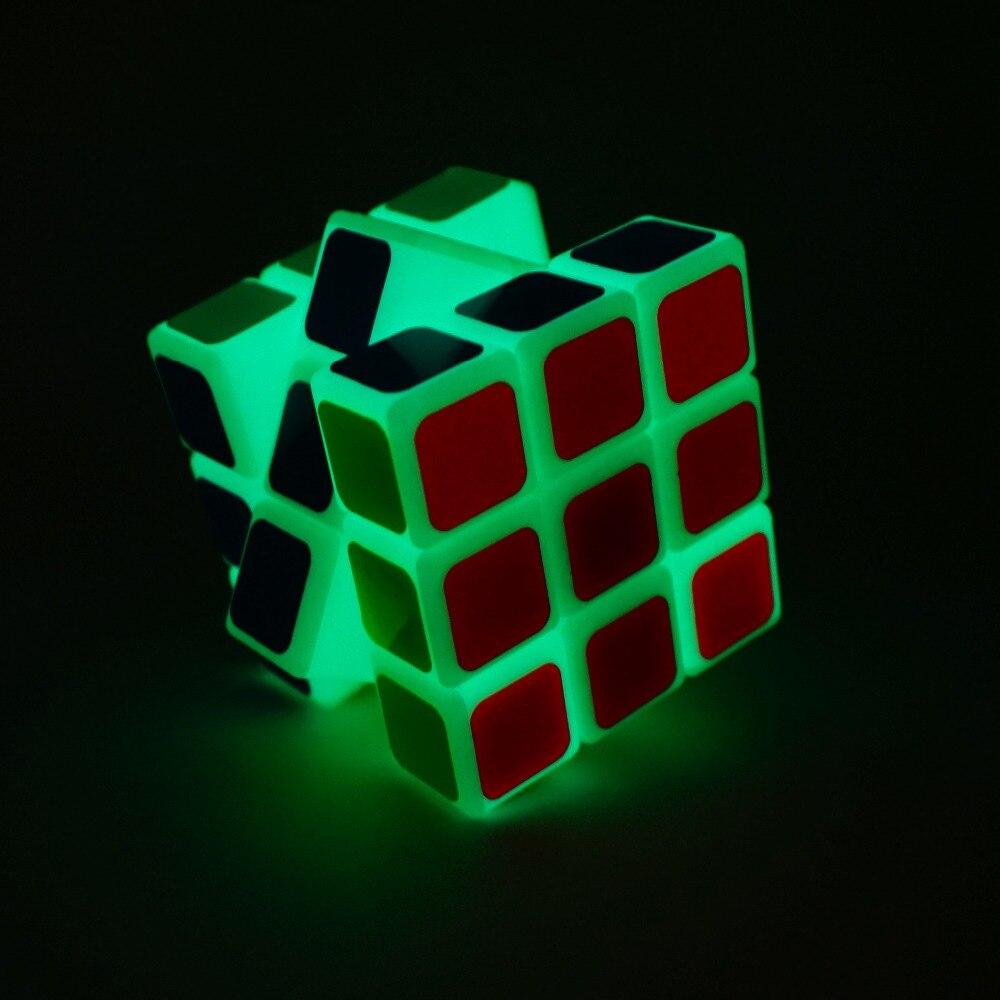 2018 Ny kommer magisk yoyo kube Noctilucent Magic Cube Professional 3 - Puslespill - Bilde 2
