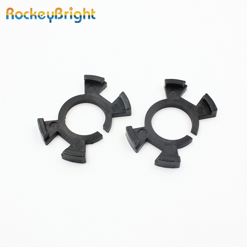 Rockeybright H1 LED Adapter Base Clip For Honda Odyssey H1 LED Headlight Bulb Conversion Convert H1 Holder Adapter Bulb Socket