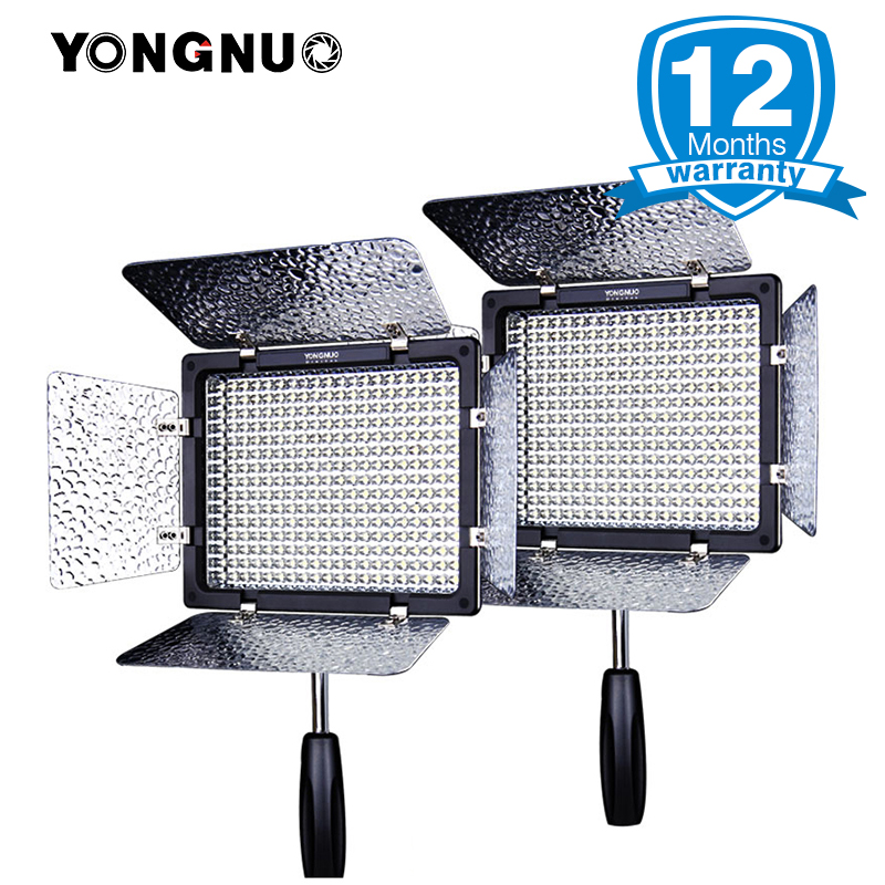 2pcs Yongnuo Official YN300 III 5500K Photo LED Video Light Output 300 LED beads Studio Lighting On Camera for Canon/Nikon недорого