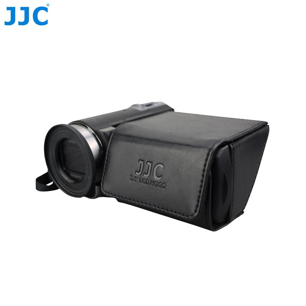 "JJC 3.5"" DV DSLR Video Camera Display Protector LCD Hood Fold Out Screen Sun Shield Cover for CANON VIXIA HF S20/S200/S21"