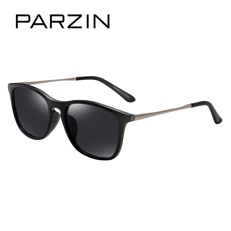 PARZIN Brand Quality Children Polarized Sunglasses Anti-UV400 Ultra-Light Sun Glasses Kids Eyewear With Case D2003 beolong brand fashion polaroid sunglasses women men polarized driving alloy sun glasses with case box 5 colors bl369