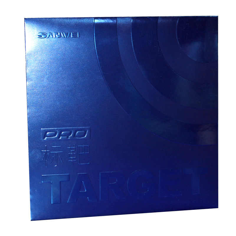 Sanwei (2019 latest) TARGET Provincial Blue Sponge (Target Pro Blue Version) Table Tennis Rubber with Ping Pong Sponge