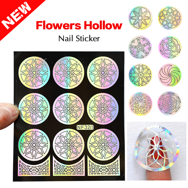picture about Free Printable Nail Art Stencils called Nail Sticker Template Perfect Nail Types 2018