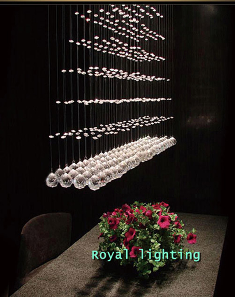 Küche führte kristall beleuchtung anhänger lampen gu10 led luminaria home beleuchtung esszimmer moderne kristall pendelleuchten